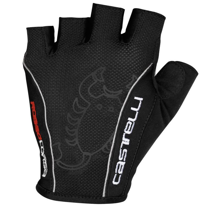 Rosso Corsa Classic Gloves Black/Black