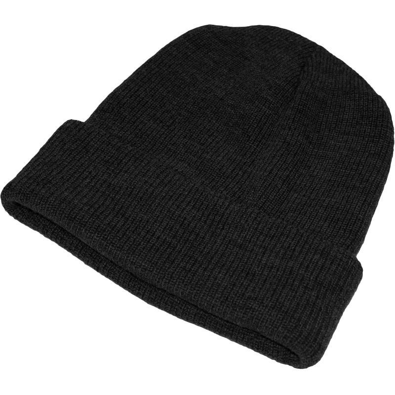 Merino Wool Cap Black