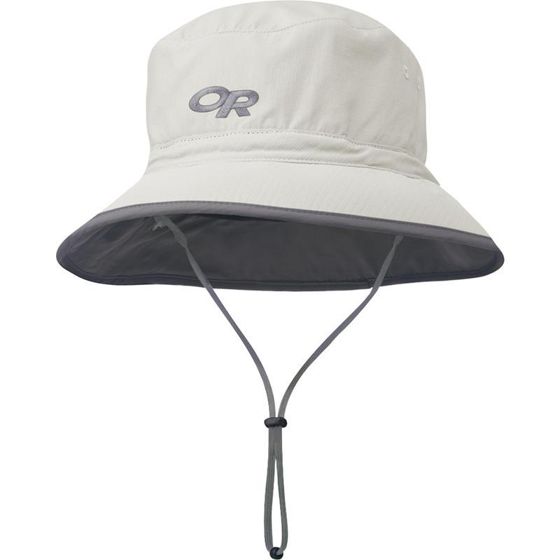 Chapeau Sun Bucket Sable/Gris foncé
