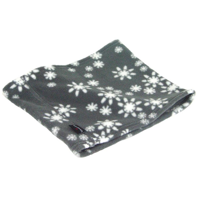 Neck Warmer Grey Snowflake