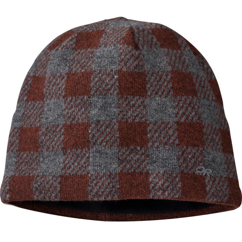 Svalbard Hat Brick/Charcoal