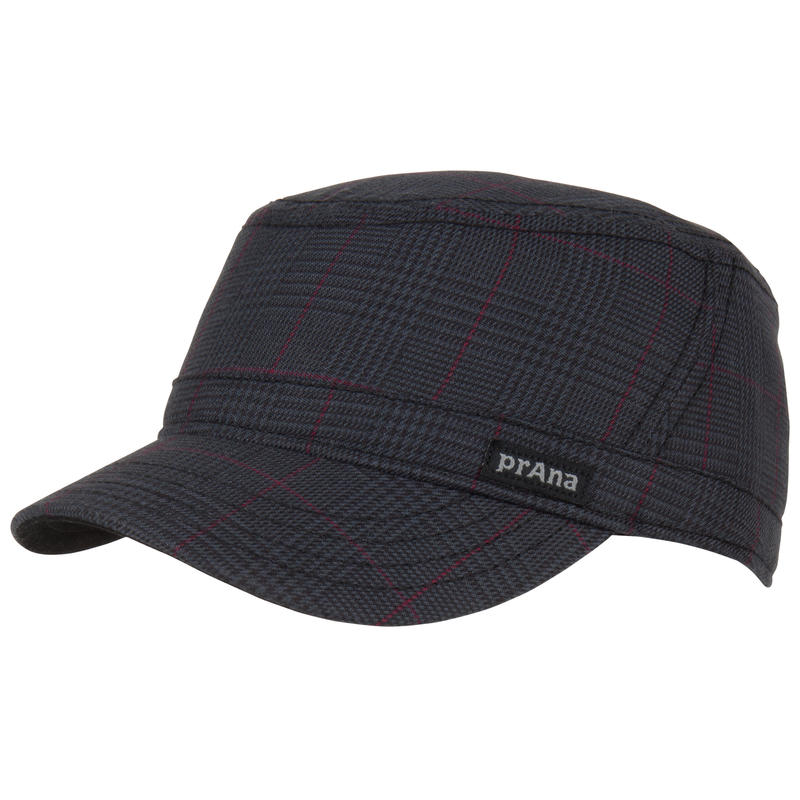 Luke Cadet Hat Dark Grey