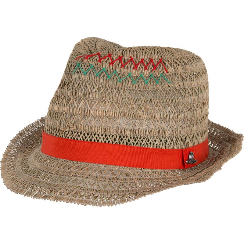 Chapeau Estelle Rouge feu