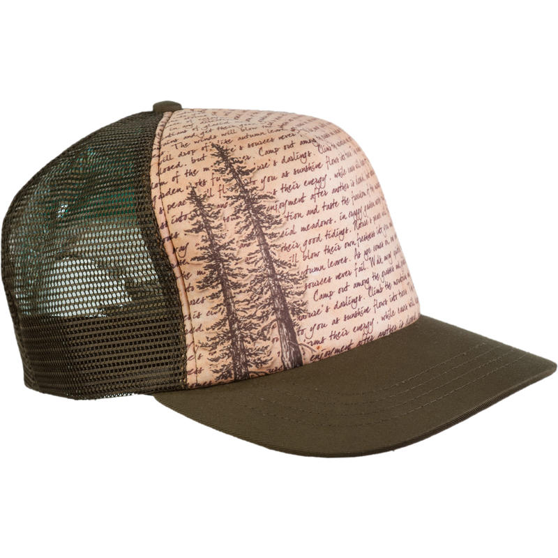 Muir Trucker Hat Nutmeg