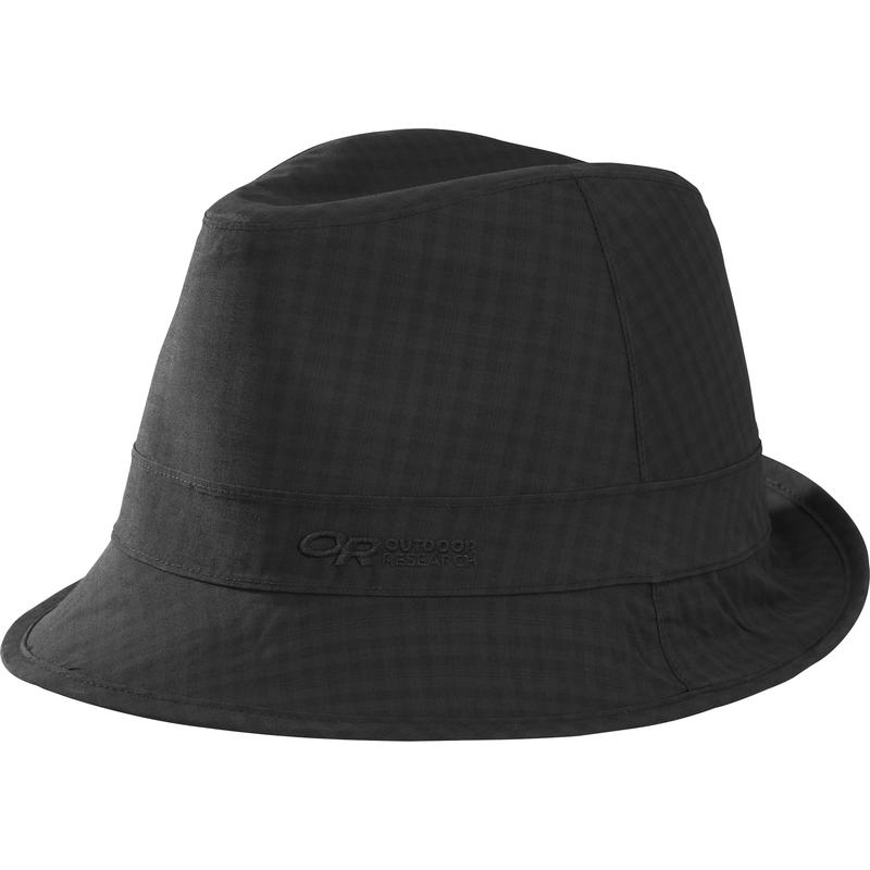 Detour Fedora Hat Black Check