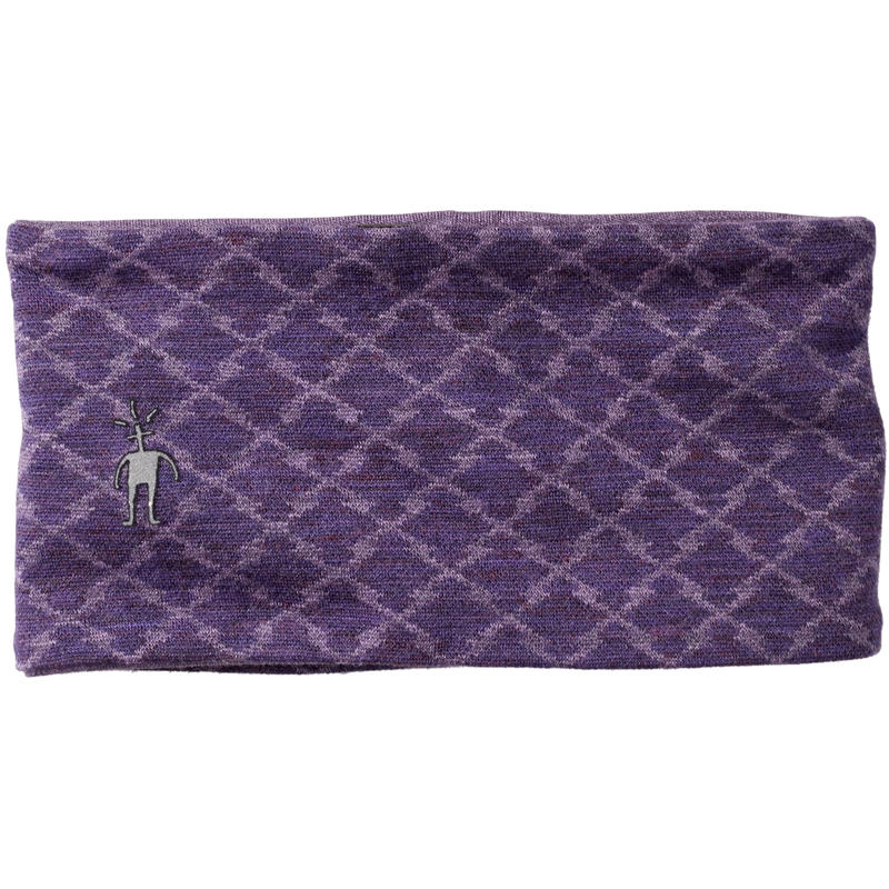 NTS Mid 250 Reversible Headband Mountain Purple Heather