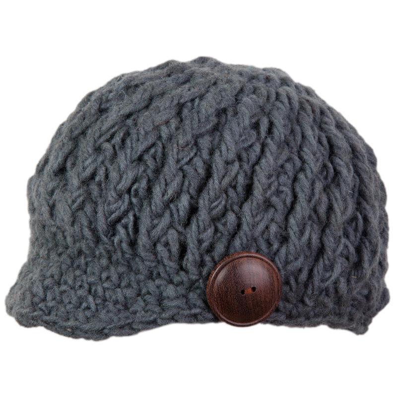 Bonnet à visière Newton Granite