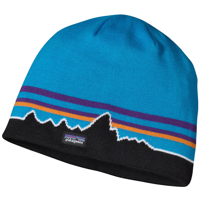 Beanie Hat Classic Fitz Roy/Andes Blue