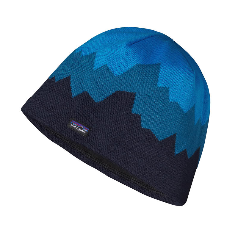 Lined Beanie Discoveries/Navy Blue