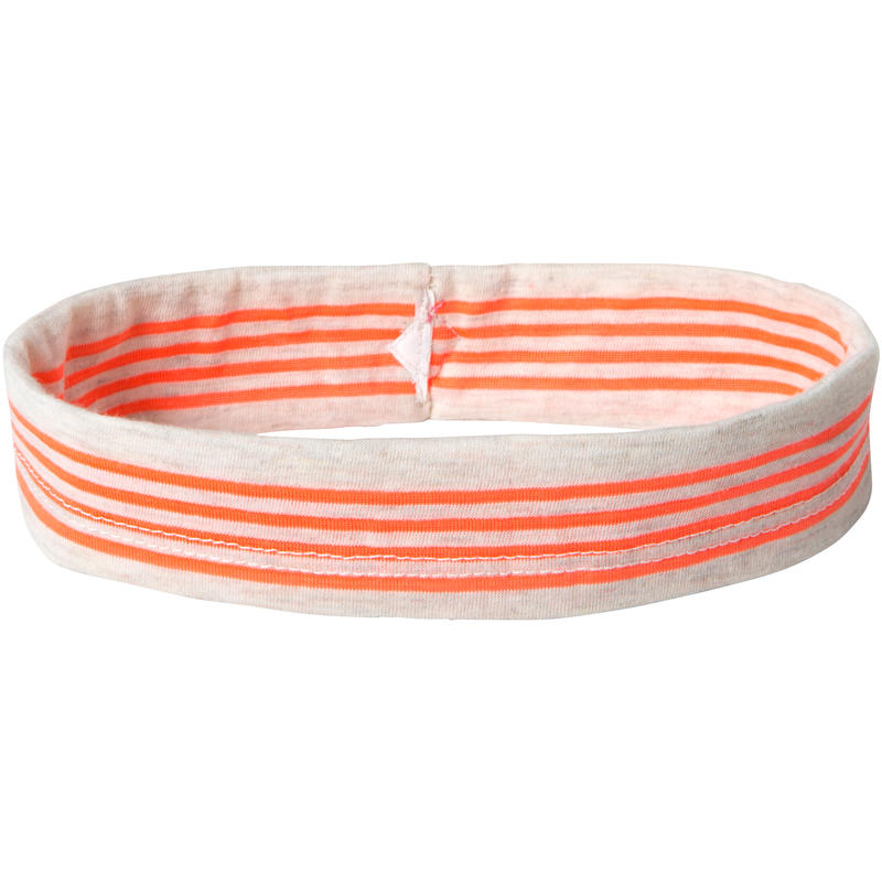 Lila Headband Glowing Coral Stripe