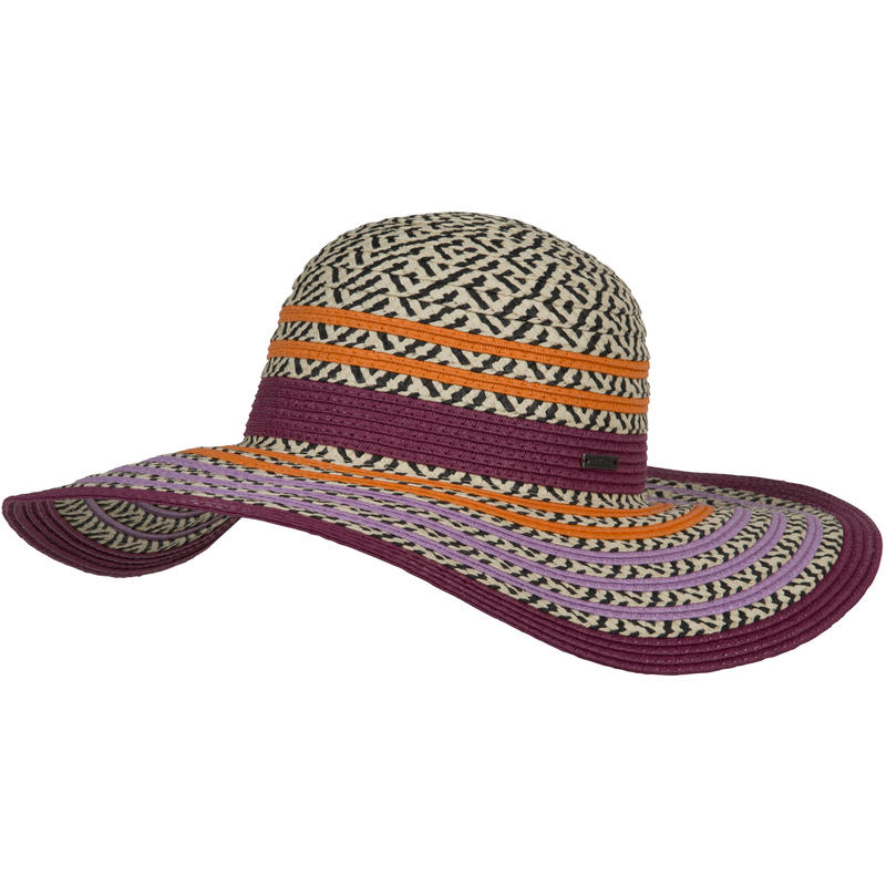 Dora Sun Hat Plum Red