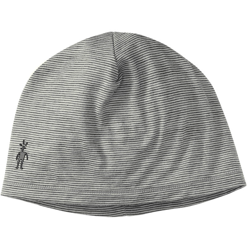 NTS Micro 150 Pattern Beanie Silver Grey Heather