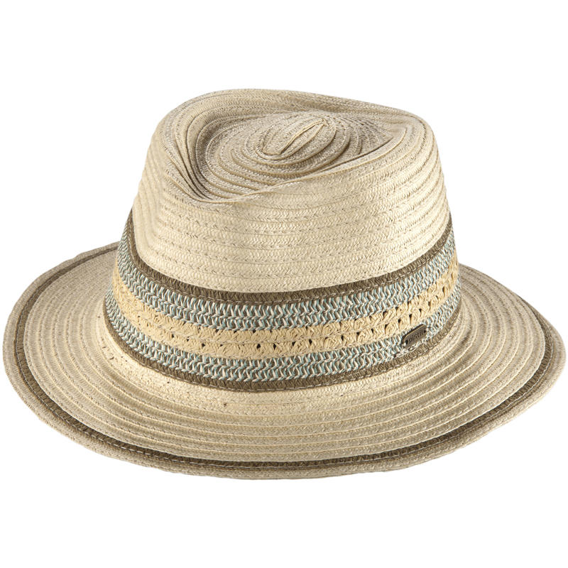 Suzette Fedora Hat Natural