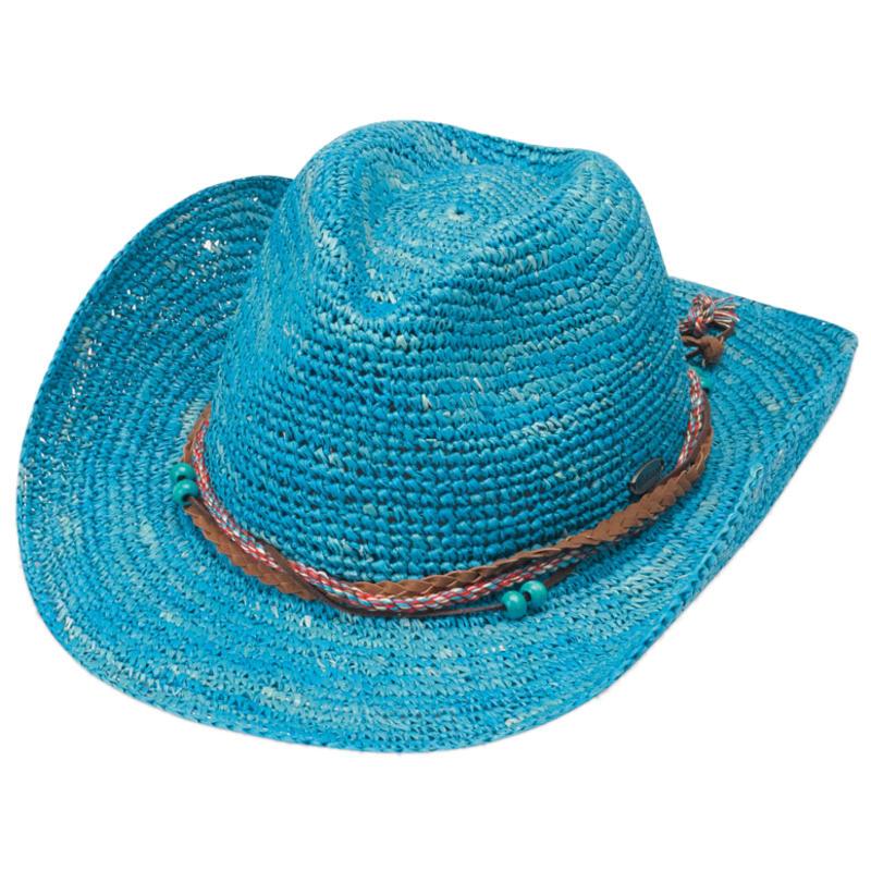 Chapeau de cowboy Catalina Bleu océan