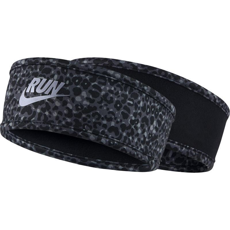 Run Lotus Headband Black/Dark Grey
