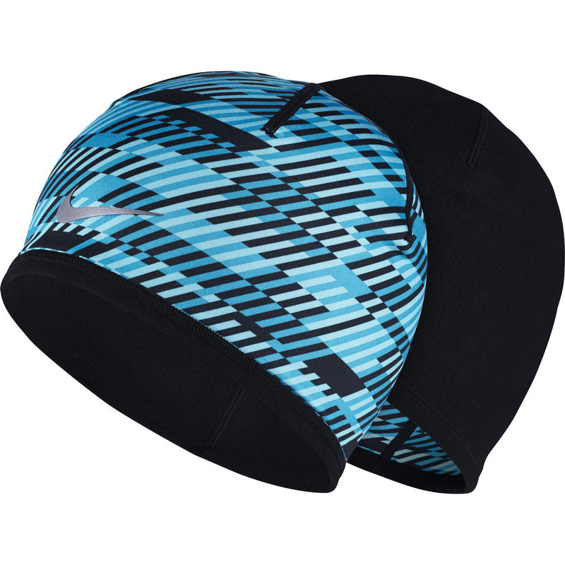 Hazard Beanie Blue Lagoon/Black