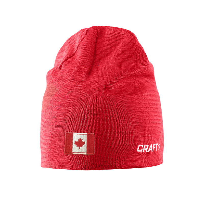 Tuque Race Canada Rouge