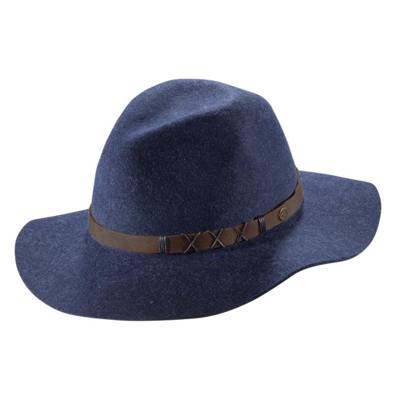 Soho Brim Hat Navy
