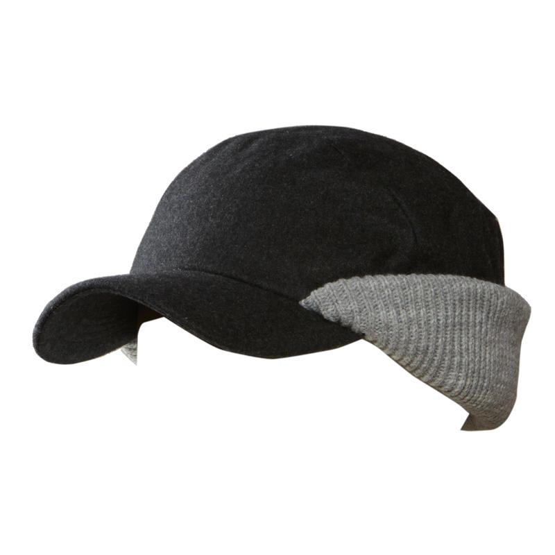 Crest Hat Heather Grey