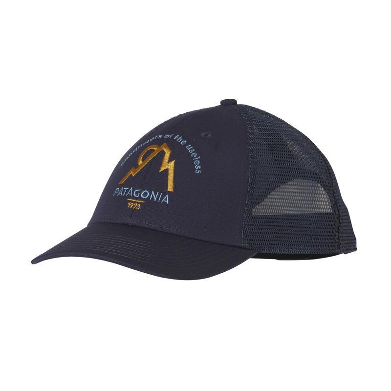 Moonset LoPro Trucker Hat Navy Blue