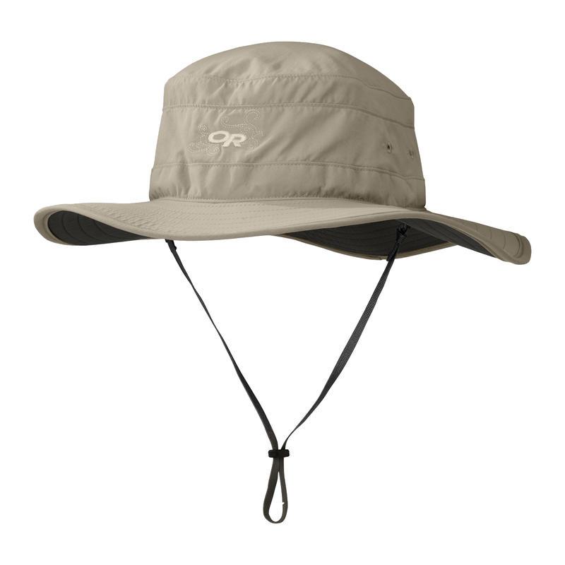 Solar Roller Sun Hat Khaki/Dark Grey