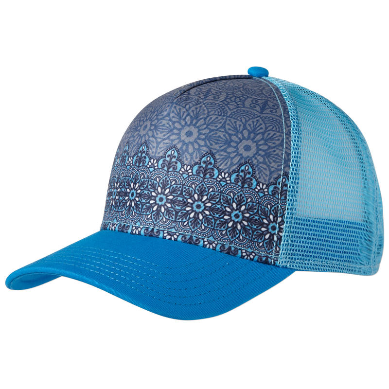 La Viva Trucker Electro Blue Flora