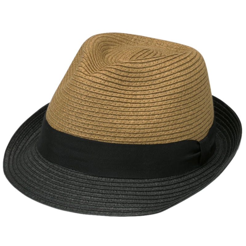 Tia Trilby Tan/Black