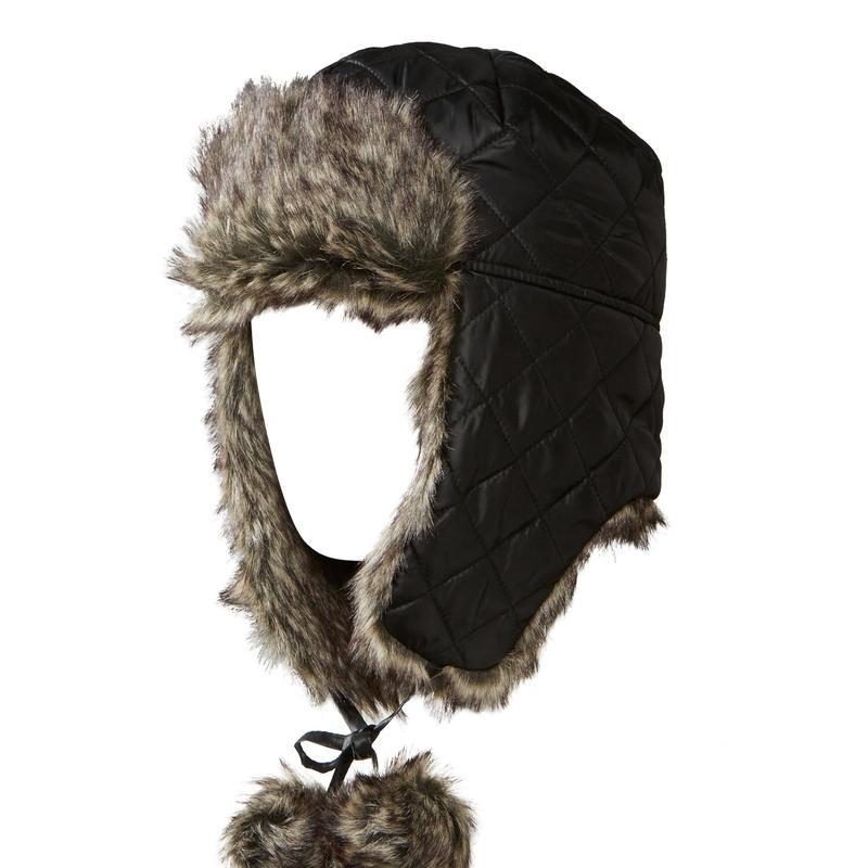 Chapeau Gladys Trapper Noir
