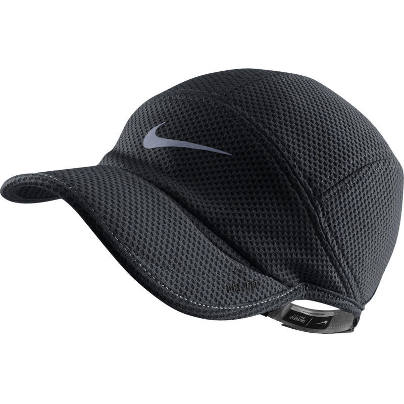 Run Mesh Daybreak Cap Black
