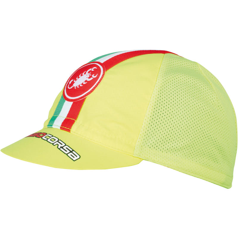 Performance Cycling Cap Yellow Fluo