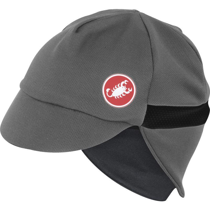 Risvolto Winter Cap Grey/Black