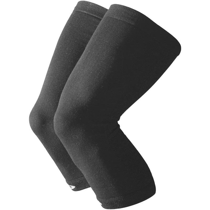 Kneekers Wool Cycling Knee Warmers Charcoal