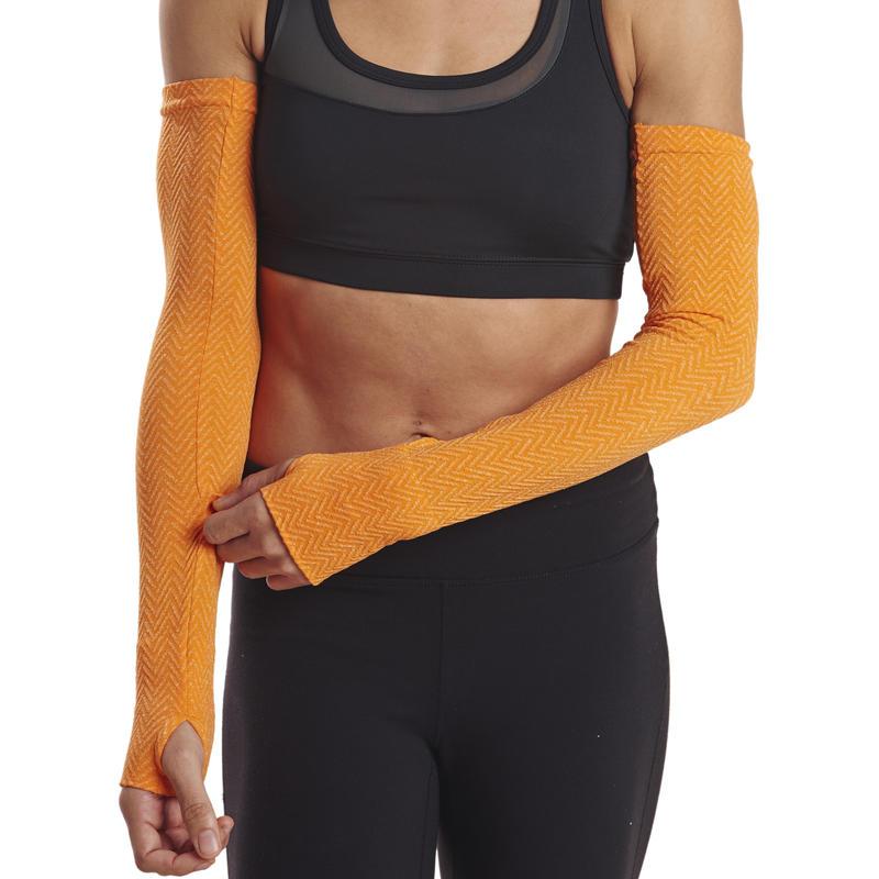 Herringbone Arm Warmers Pop