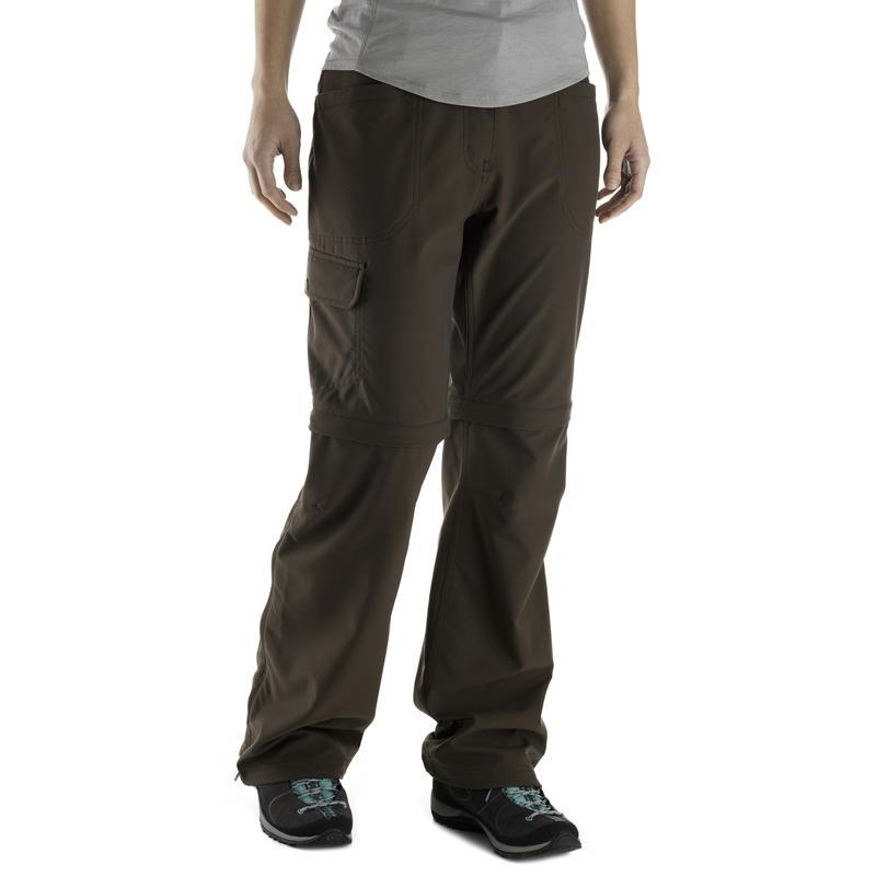 Terrena Convertible Pants - Regular Inseam Espresso