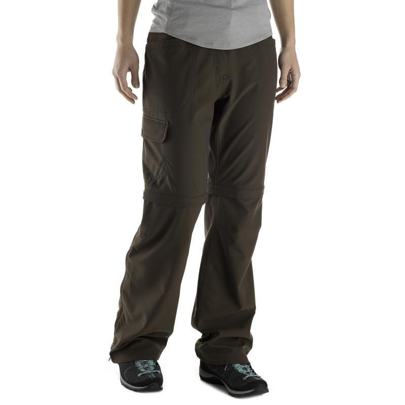 Terrena Convertible Pants - Short Inseam Espresso
