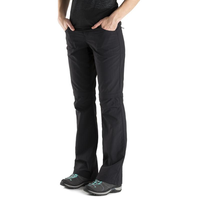 Terrena Convertible Pant - Regular Inseam Black