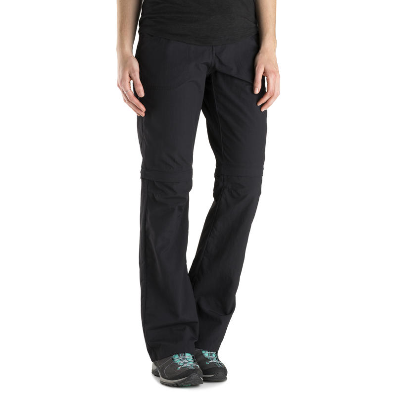 Pantalon convertible Terrena (long) Noir