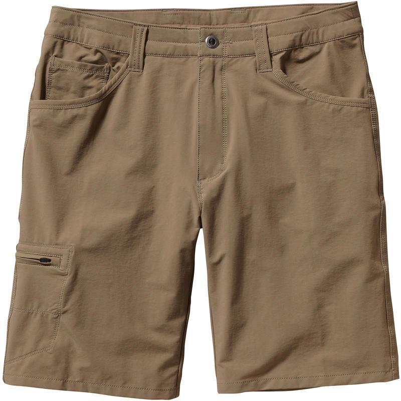 "Quandry Shorts 10"" Ash Tan"