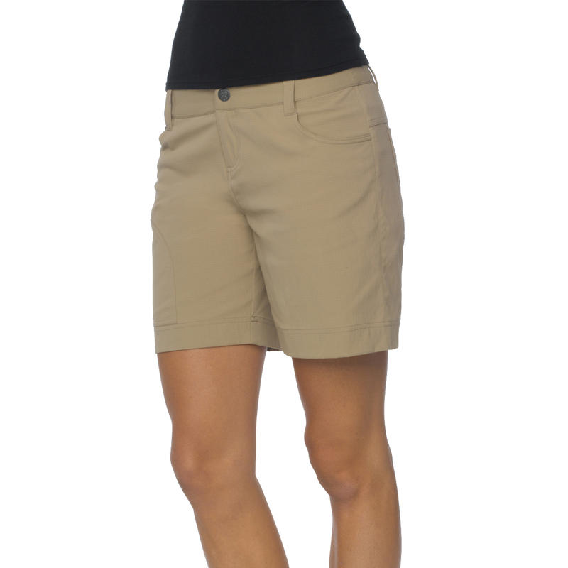 Hazel Shorts Dark Khaki