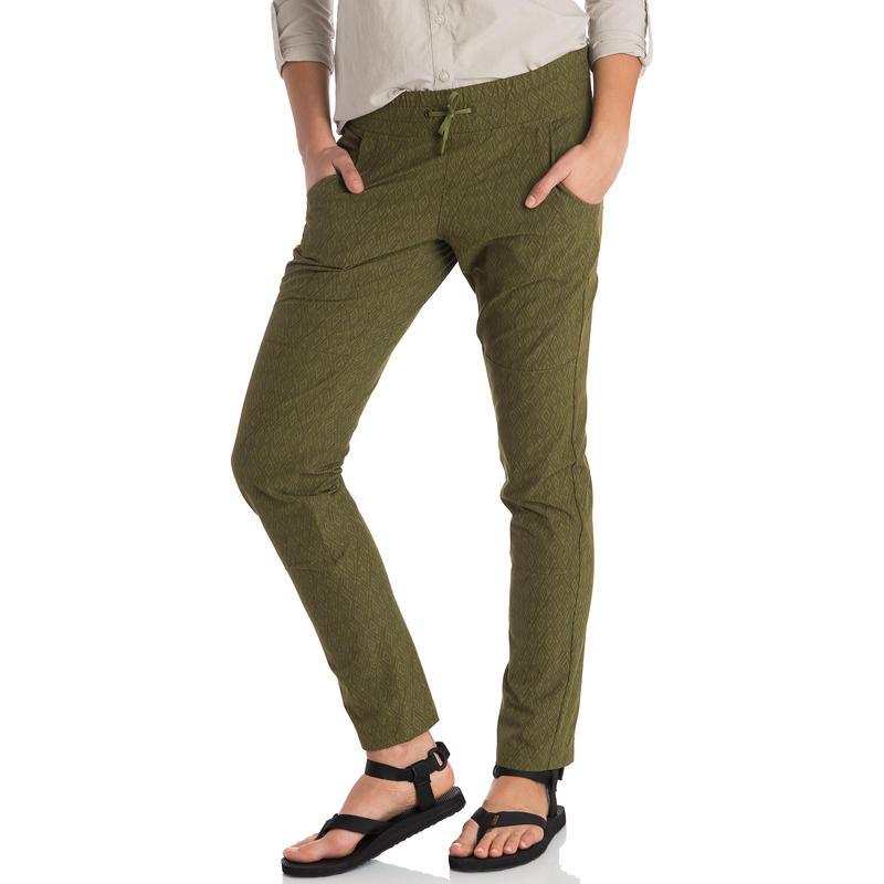 Pantalon Amanita (coupe droite) Imprimé vertige crocodile