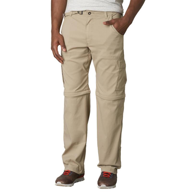 Stretch Zion Convertible Pants Dark Khaki