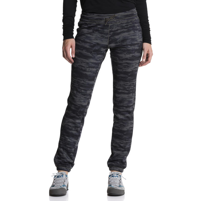 Watchtower Pants Black Olive Earthlayer Print