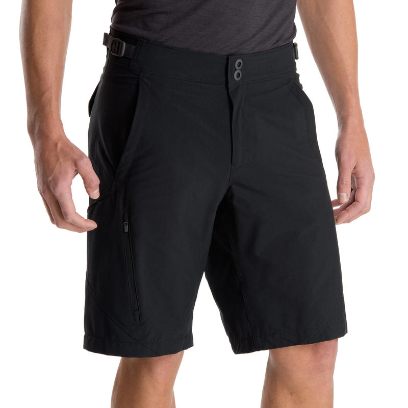 Crinkum Plus Shorts Black