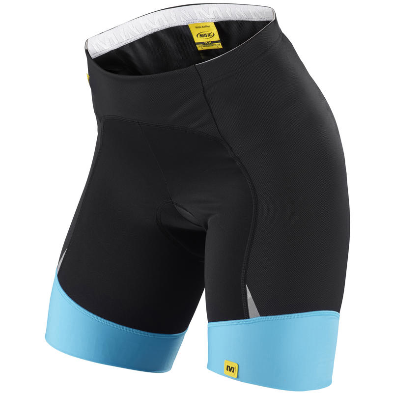 Athena Shorts Black/Blue Line