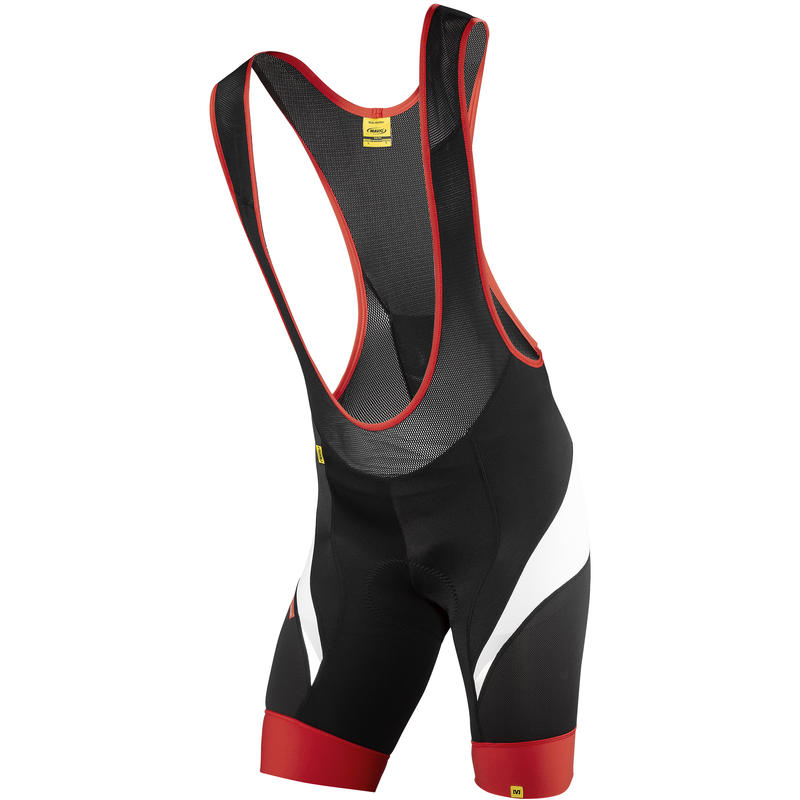 HC Bibshorts Black/Bright Red