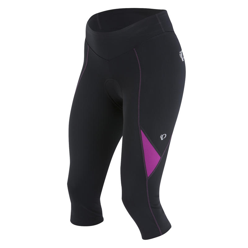 Sugar Cycling 3/4 Tight Black/Purple Wine
