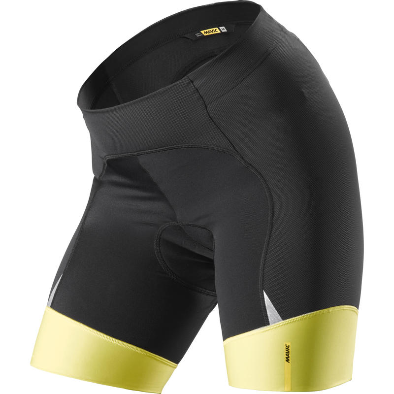 Ksyrium Elite Shorts Black/Cozma Yellow