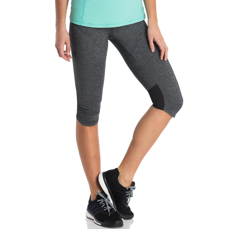 Agility Capris Black Heather
