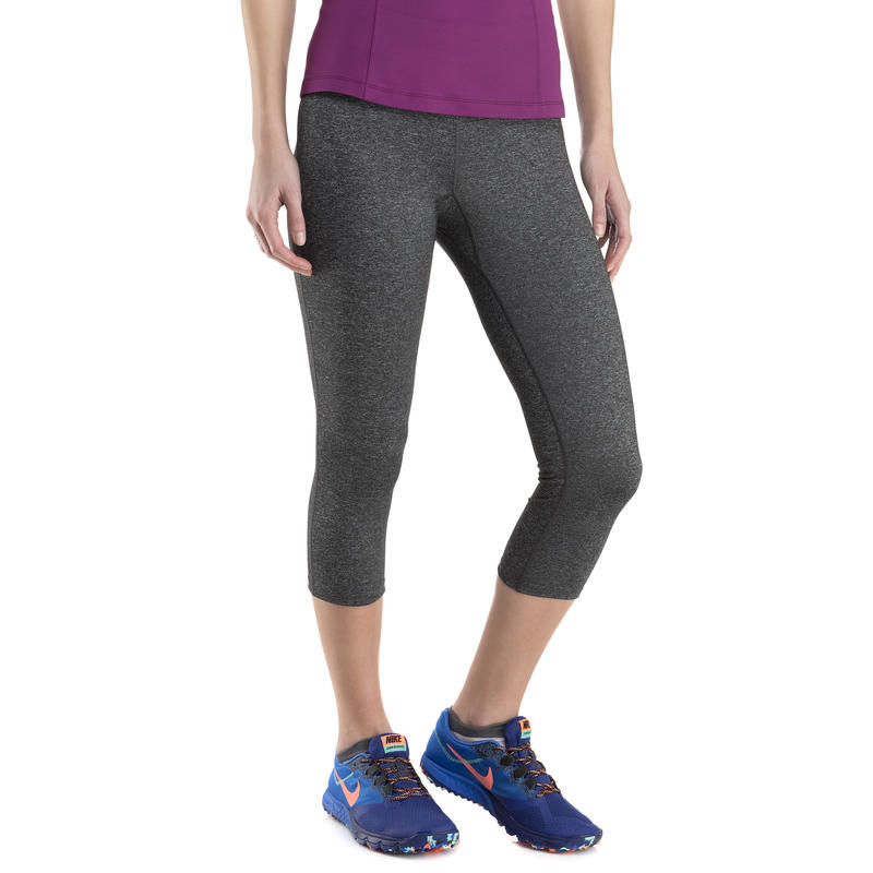 Sanctuary Capris Black Heather