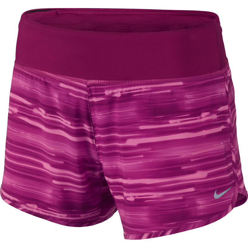 Printed Rival Shorts Fireberry/Dark Fireberry